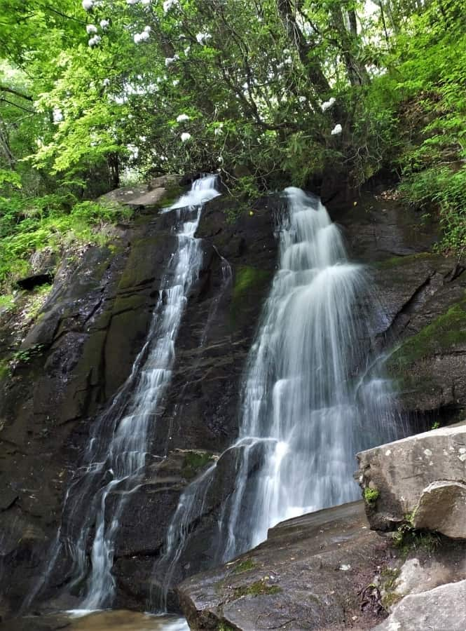 Juney Whank Falls. A treasure in the Smoky Mountains.