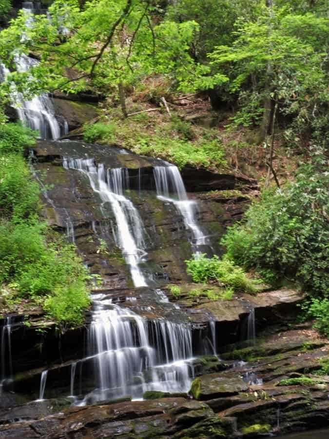 Tom Branch Falls. A treasure in the Smoky Mountains.