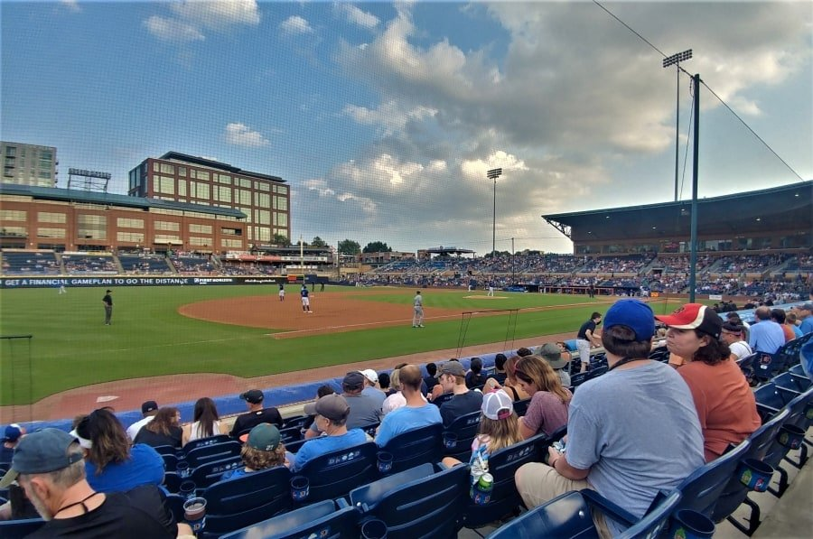 Bull Durham baseball game