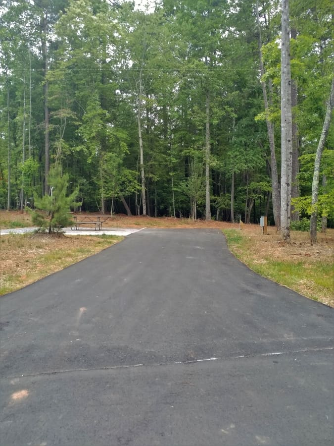Lake Norman State Park Campground Site #39
