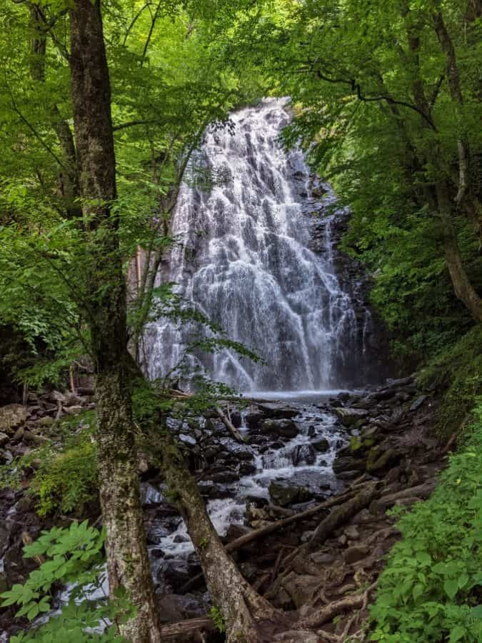 Crabtree Falls on the Blue Ridge Parkway