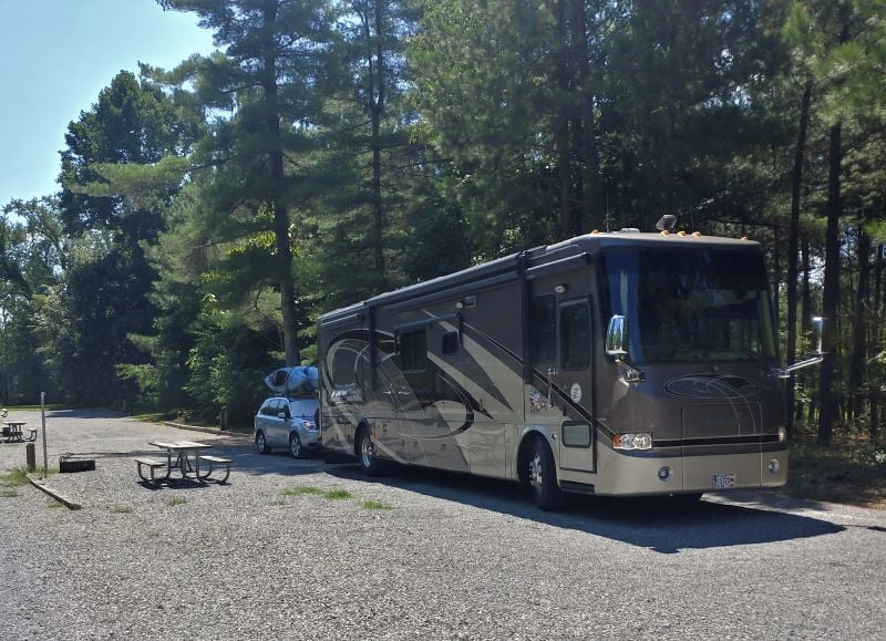 Our RV in Site D30