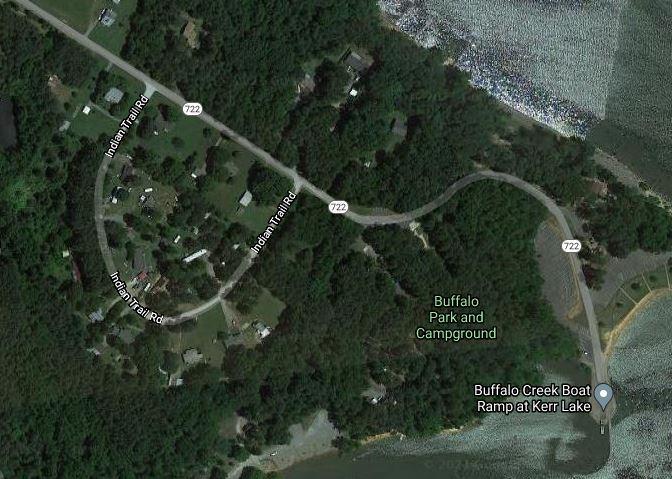 Buffalo Park Campground Satellite View