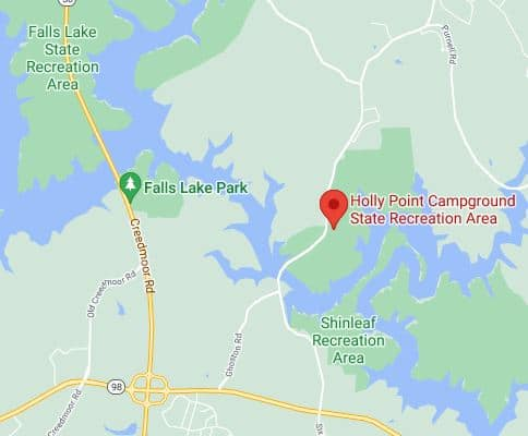 Campsite Review Holly Point Campground