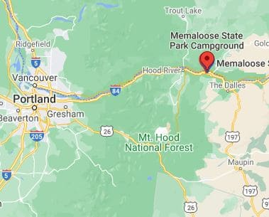 Campsite Review Memaloose State Park