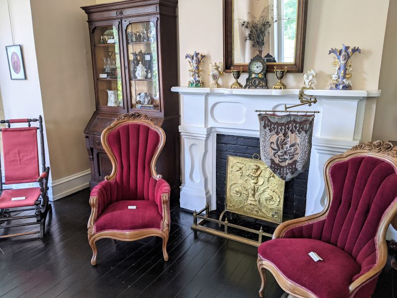 Living Room of the Glenco House