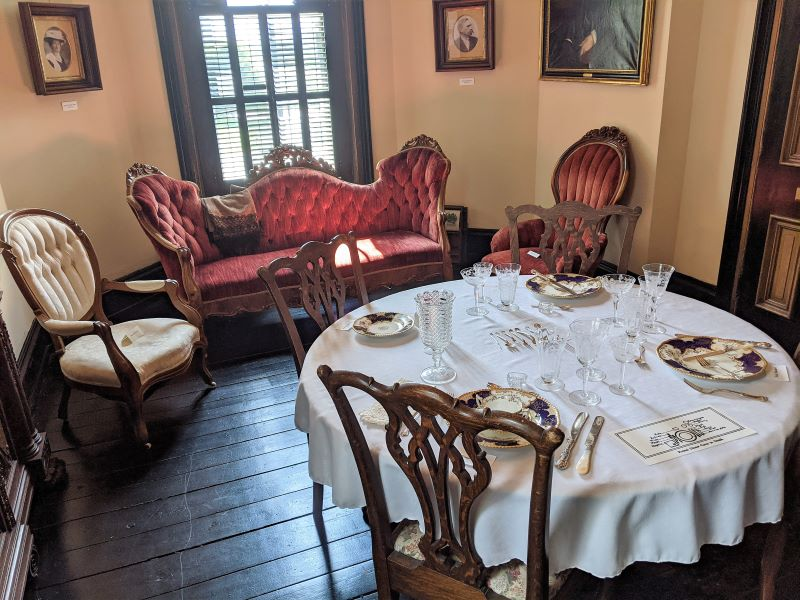 Dining Room of the Glenco House