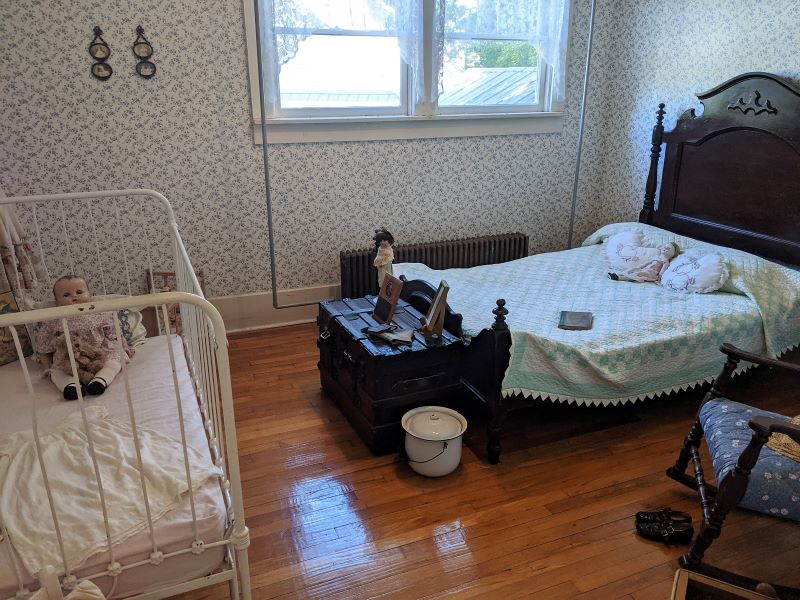 Large bedroom at the superintendent's house.