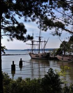 Roanoke and Jamestown