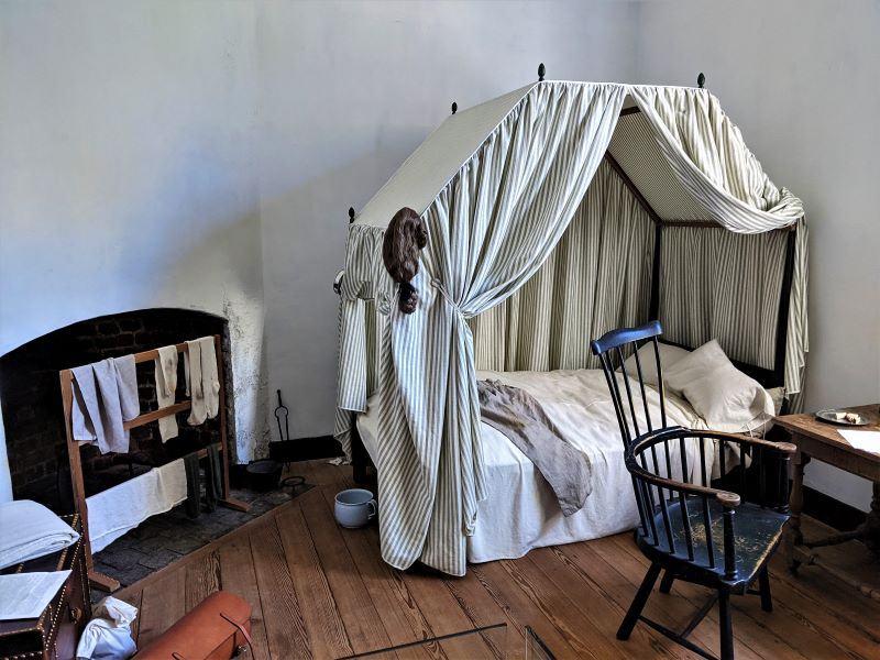 Stratford Hall Plantation Servant Bedroom