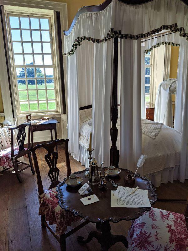 Stratford Hall Plantation Bedroom